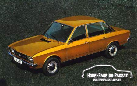 História do Passat - Volkswagen K70