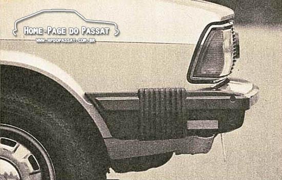 Passat LS Série Especial: polainas retráteis