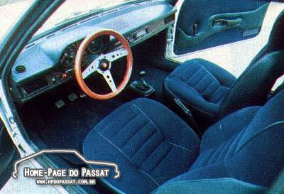 Interior do Passat Malzoni