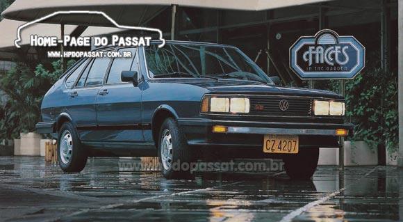Passat LSE 1983. Divulgação VW.