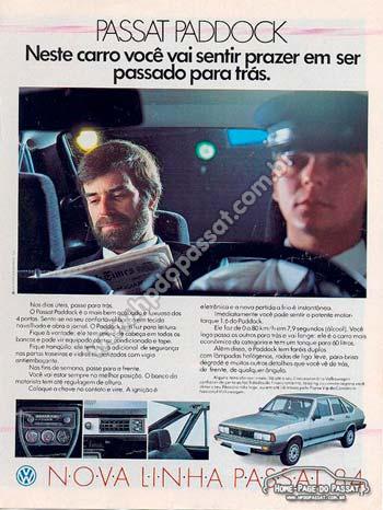 Passat LSE Paddock 1984