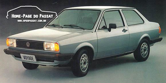 Voyage do Mês, ano 1985. Imagem de divulgação publicada na revista