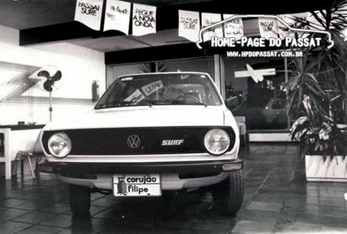Números de produção e vendas do Passat - Passat Surf 1978