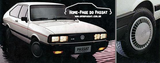 Passat Flash: rodas de aço do Santana e supercalotas de série. Imagens: Divulgação VW