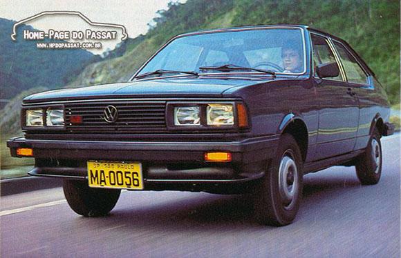 Passat Special 1984. Foto: divulgação VW
