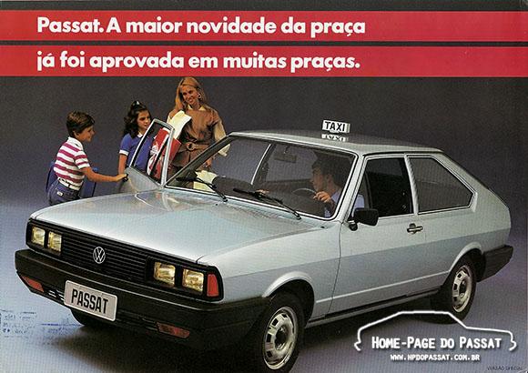 Folder publicitário do Passat Special 1986