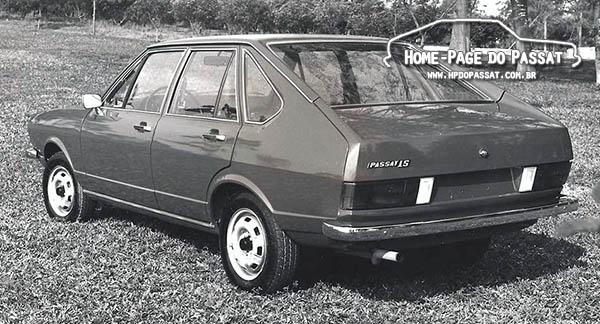 Passat LS 1977 4 portas