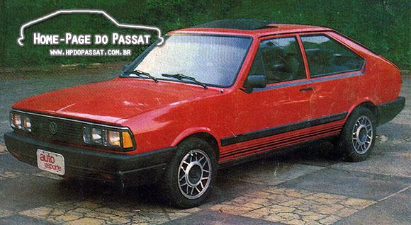 Passat GTS Pointer 1987 - Auto Esporte