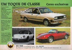Anúncio da Ducril em setembro de 1982