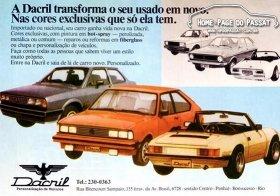 Anúncio da Dacril em 1984