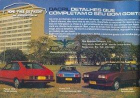 Último anúncio da Dacril encontrado, em 1984.