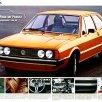 Folder da linha VW 1977 (Alemanha)