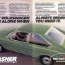 Propaganda do VW Dasher 1974 - EUA