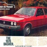Propaganda do VW Dasher 1978 - EUA