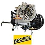 Carburador Brosol 2E álcool, sem ar condicionado