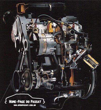 Motores 1.8 do Passat