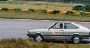 Ayrton Senna testando o Passat