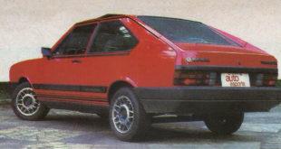 Teste do Passat GTS Pointer 1987 - Auto Esporte