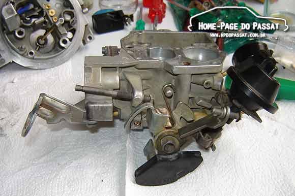 Manutenção e limpeza de carburador: Brosol 2E7