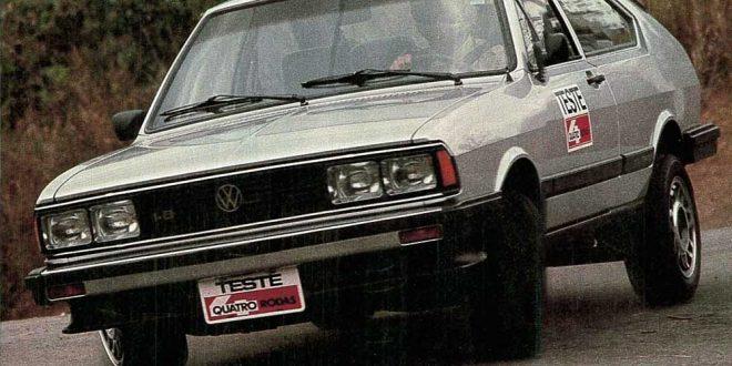 Passat GTS 1.8 - Quatro Rodas nº 290, setembro de 1984