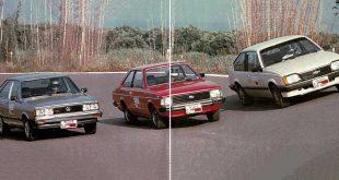 Quatro Rodas nº 285 - Comparativo entre Corcel II, Monza e Passat